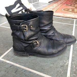 J. Crew Biker Boots